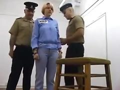 Caning   birching in prison tube porn video