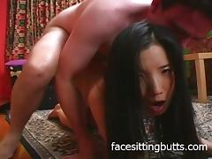 What a nasty little Asian fuck doll tube porn video