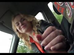Car, Amateur, Blowjob, Car, Handjob, Public