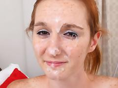 DeeDee in First Time Sperm Face - FacialsForever porn tube video