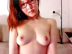 Exotic Webcam movie with College, Masturbation scenes