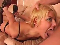 Russian Blonde Whore Facefuck porn tube video