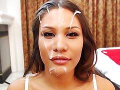 Mena Li in Mena Gets Face Blasted! - FacialsForever