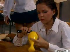 Blonde Slave Inspected