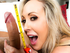 Brandi Love & Danny Mountain in Huge Cock For Hire - Brazzers tube porn video
