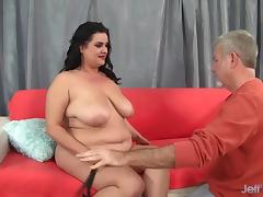 Tempting hot BBW Allision Broadway gets fucked porn tube video