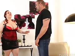 BBW Jordynn Luxxx Get Spanked and Fucked by Stepdaddy Tony D tube porn video