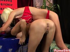 Hot Psychic Puma Swede Fucks Her Hot Client! porn tube video