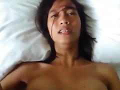 Asian pov creampie porn tube video