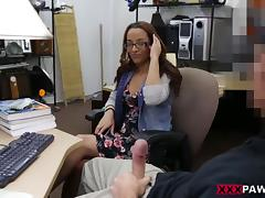 College Student wants to pawn her books ! - XXX Pawn