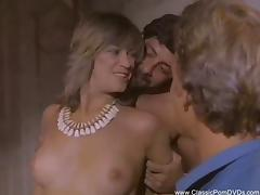 Threesome Housewife Fantasy From 1972 tube porn video