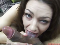Sarah shevon gives pov blowjob tube porn video