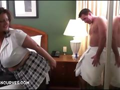 Her boss was in the shower porn tube video