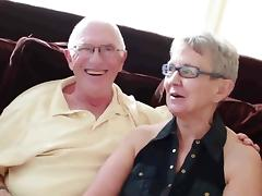 Elderly husband fucked with college girl man porn tube video