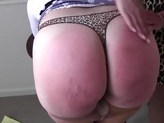 FF Spanking porn tube video