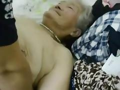 Chinese, Asian, Chinese, Granny, Mature, Old