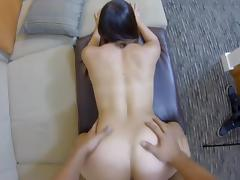 Fucking a hot babe doggystyle gives a nice view porn tube video