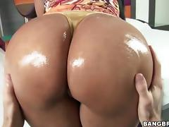 Colombian Ass Paola gets stretched