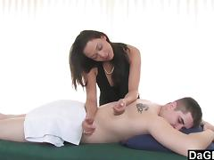 Table massage experience