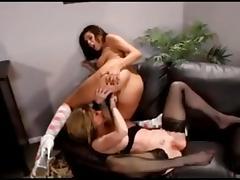 Fabulous MILFs scene with Cunnilingus,Lesbian scenes