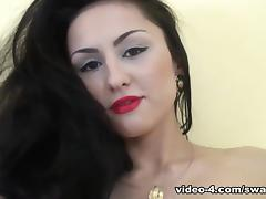 Barbora is Playing With Her Perky Titties! - SwankPass tube porn video