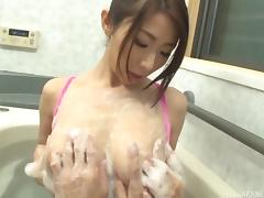 Ayumi still knows what to do when there's a cock in her hands