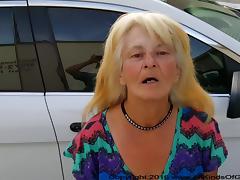 Poor Little Anal Granny fuck