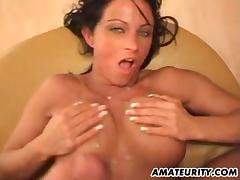 German amateur Milf with big tits gets fucked hard tube porn video