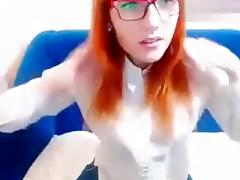 Red-haired beauty Alevtinia undressed in front of camera porn tube video