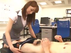 kaede was fucked by her boss porn tube video