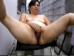 Mature Hispanic masturbating porn tube video