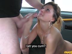 Eva in Taxi seduction with anal sex - FakeTaxi porn tube video