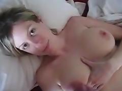 Wife, Masturbation, Wife, Jizz, Maledom
