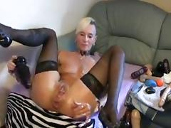 Mature lady breaks own ass porn tube video