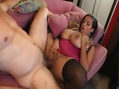 Hottest pornstar Selena Star in incredible big tits, stockings porn scene
