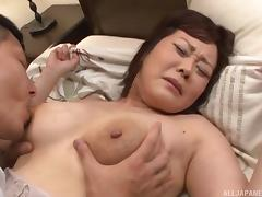 Old, Asian, Big Tits, Fucking, Japanese, Mature