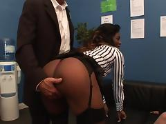 Classy bitches gets fucked side by side porn tube video