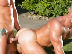 Jimmy Durano & Landon Conrad in Heatstroke Scene