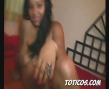 Toticos.com dominican porn - 19yo sexy teen Natacha pt 2 tube porn video