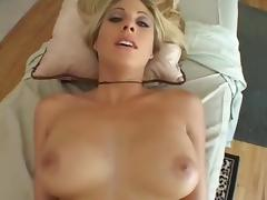Massage, Anal, Blonde, Massage, Masseuse