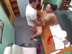 Mea in Sexy new nurse likes working for her new boss - FakeHospital