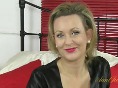 Betsy Blue in Masturbation Movie - AuntJudys porn tube video