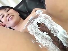 Asian Old and Young, Asian, Bitch, Brunette, Fingering, Fucking
