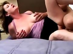 Hot milf gets her tight pussy drilled
