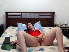 Brunette, BBW, Brunette, Masturbation, Piercing, Solo
