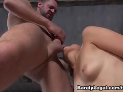 Natasha Voya in Daddy Daughter Swap - BarelyLegal porn tube video