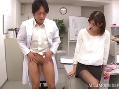 hot japanese sex on the workplace porn tube video