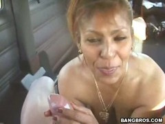 My Favorite Latina MILF gets banged on the way home