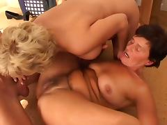 Old & Young - Sex education from two granny