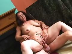 Best pornstar Nina Swiss in horny cumshots, brunette xxx video